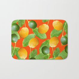Lemons and Limes Bath Mat