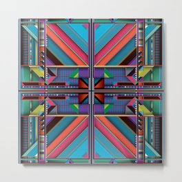 Z.Series.90.Symmetrical  Metal Print