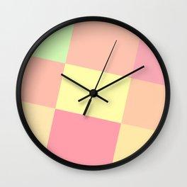 Neopolitan Palette Wall Clock