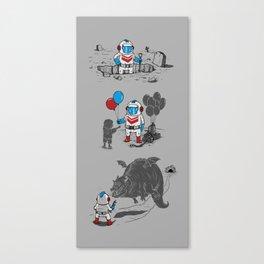Mr. Dug alternatives jobs Canvas Print