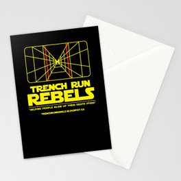 Trench Run Rebels Stationery Cards