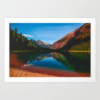Somewhere in the Rockies Art Print