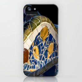 Gaudi pattern iPhone Case
