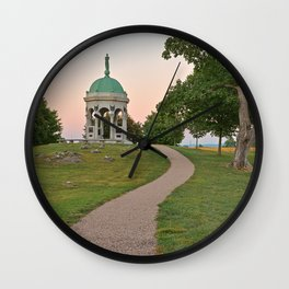Antietam Twilight Wall Clock