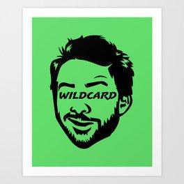 Wildcard Charlie Art Print