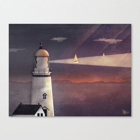 Sea of Light Canvas Print