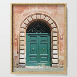 Door in Rome Serving Tray