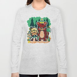 Lumberjack and Friend Long Sleeve T-shirt