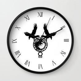 Raven - Fenrir Wall Clock