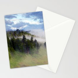 Morning Fog #2 Stationery Cards
