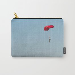parachutist red Carry-All Pouch