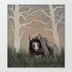 Forest Beastie Canvas Print