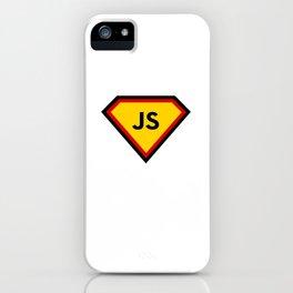 Java script - js programming language iPhone Case