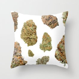 Wall Flower Throw Pillow