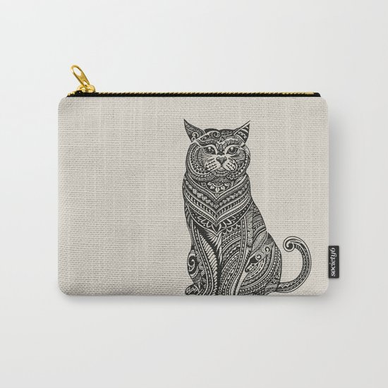 Polynesian British Shorthair cat Carry-All Pouch