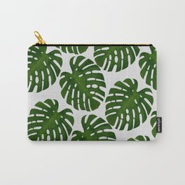 Monstera Leaf II Carry-All Pouch
