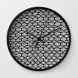 Lion Face Pattern Wall Clock
