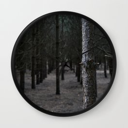 In Formby Woods Wall Clock