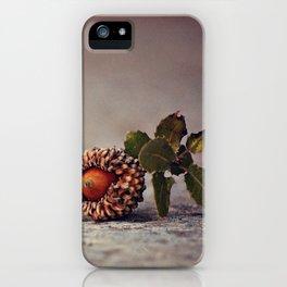 Acorn iPhone Case