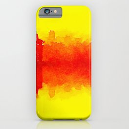 up-down-city iPhone Case