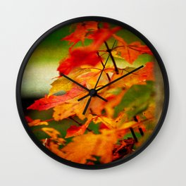 Tumble Down Fire Wall Clock