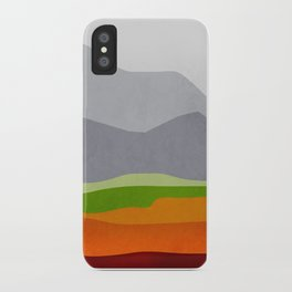 Mountains 10 iPhone Case