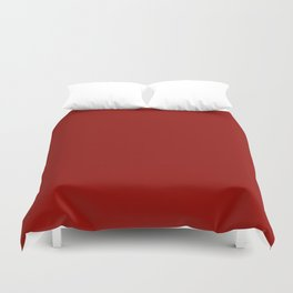 Simple Red Colour Duvet Cover