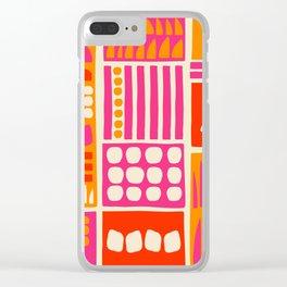 Utopia Clear iPhone Case