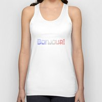 bonjour Tank Tops featuring Bonjour! by UMe Images