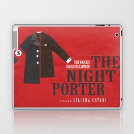 The Night Porter, movie poster, Liliana Cavani, Charlotte Rampling, Dirk Bogarde Laptop & iPad Skin