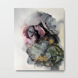 Oyster Aphrodisiac Metal Print