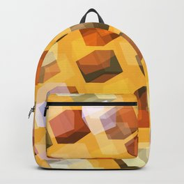 transparent cubes Backpack