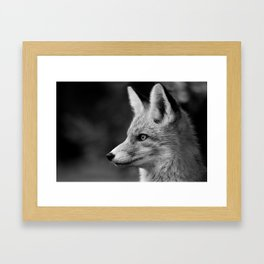 Clever Fox Framed Art Print