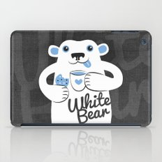 White Bear iPad Case