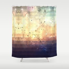 zkyy flyy Shower Curtain