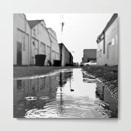 Urban rainwater  Metal Print