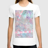 holographic T-shirts featuring Crystalline by Jevan Strudwick