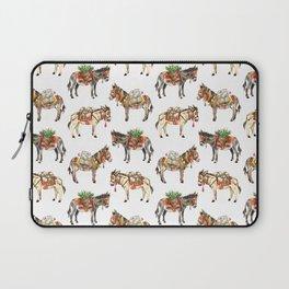 Nepal Donkeys Laptop Sleeve