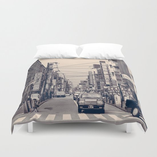 Somewhere In Kyoto Duvet Cover