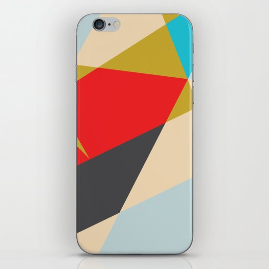 Celebrate Shapes  iPhone & iPod Skin