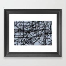 Theory II Framed Art Print