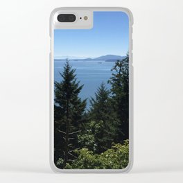 Oyster  Dome Clear iPhone Case