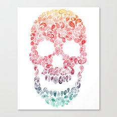 Death By Paisley Canvas Print
