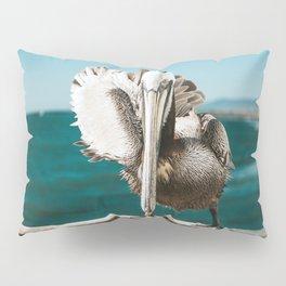 Pelican Says Hi Pillow Sham