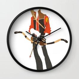 RED Sniper Wall Clock