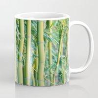 bamboo Mugs featuring Bamboo by Laura Ruth