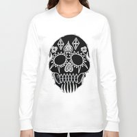led zeppelin Long Sleeve T-shirts featuring LED Skull by Max Wellsman