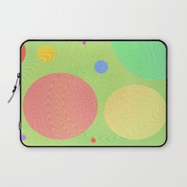 Re-Created Twisters No. 1 by Robert S. Lee Laptop Sleeve