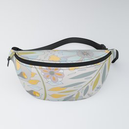 Faded Summer Blossoms Fanny Pack