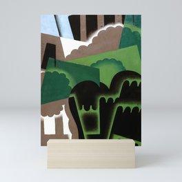 """Juan Gris """"Cubist Landscape"""" Mini Art Print"""